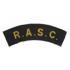 Royal Army Service Corps (R.A.S.C.) WW2 Printed Shoulder Title