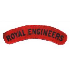 Royal Engineers (ROYAL ENGINEERS) Printed Shoulder Title