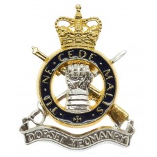 Dorset Yeomenry Enamelled Cap Badge