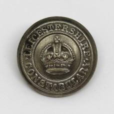 Leicestershire Constabulary Button - King's Crown (Large)