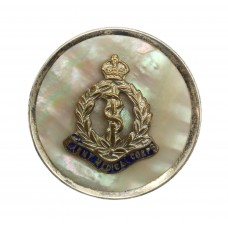 Royal Army Medical Corps (R.A.M.C.) Mother of Pearl & Silver