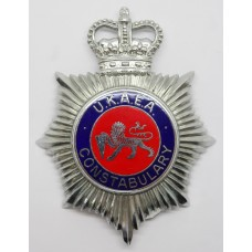 United Kingdom Atomic Energy Authority (U.K.A.E.A.) Constabulary Enamelled Helmet Plate