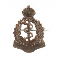 WWI Royal Army Medical Corps (R.A.M.C.) Gold on Silver Sweetheart