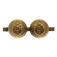 Royal Army Medical Corps (R.A.M.C.) Button Sweetheart Brooch - Ki
