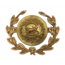 Leicestershire Regiment Button Sweetheart Brooch