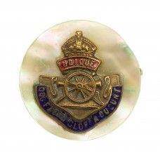 Royal Artillery Sweetheart Brooch