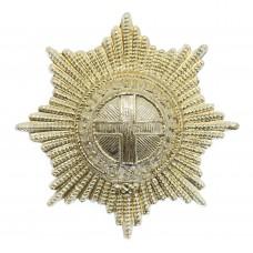 Coldstream Guards Anodised (Staybrite) Cap Badge