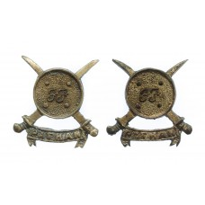 Pair of Pakistan Frontier Force Pathan Regiment Collar Badges