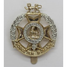 Forester Brigade Anodised (Staybrite) Cap Badge