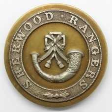 Sherwood Rangers Yeomanry Officer's Horse Furniture Bridle Strap Badge