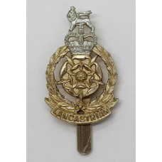 Lancashire Brigade Anodised (Staybright) Cap Badge