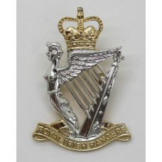 Royal Irish Rangers Anodised (Staybright) Cap Badge
