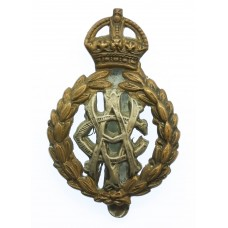 Army Veterinary Corps (.A.V.C.) Cap Badge - King's Crown
