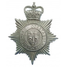 Cheshire Constabulary Helmet Plate - Queen's Crown