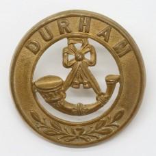 Durham Light Infantry Helmet Plate Centre