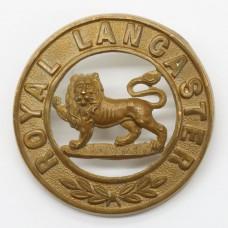 King's Own (Royal Lancaster) Regiment Helmet Plate Centre