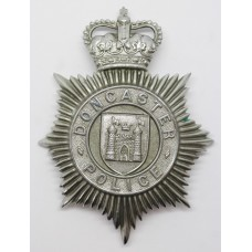 Doncaster Borough Police Helmet Plate - Queen's Crown
