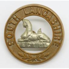 South Lancashire Regiment Bi-metal Helmet Plate Centre