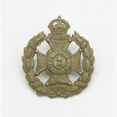 Edward VII Rifle Brigade Field Service Cap Badge