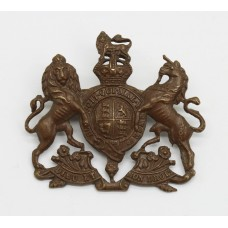 General Service Corps Officer's Service Dress Cap Badge - King's Crown