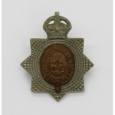 1st King's Dragoon Guards Collar Badge - King's Crown