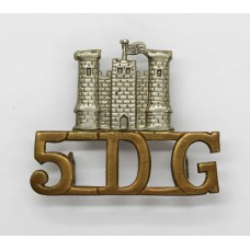 5th Dragoon Guards (Castle/5.D.G.) Shoulder Title