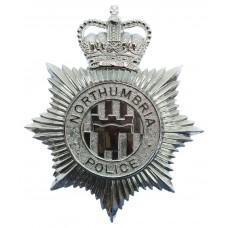 Northumbria Police Helmet Plate - Queen's Crown