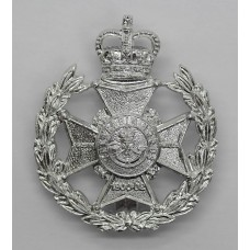 The Robin Hood Bn. Sherwood Foresters (Notts & Derby Regiment) Anodised (Staybrite) Cap Badge