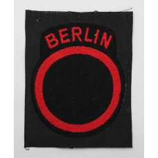 British Troops Berlin District Formation Sign (2nd Pattern)