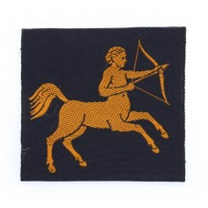 7th Army Group Royal Artillery (AGRA) Silk Embroidered Formation