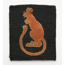 7th Armoured Division Cloth Formation Sign