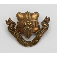 Loyal North Lancashire Regiment Officer's Service Dress Collar Badge