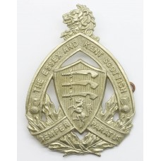 Canadian Essex and Kent Scottish Cap Badge