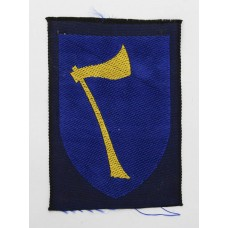 Northern Army Group Silk Embroidered Formation Sign