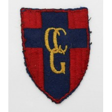 Control Commission Germany (C.C.G.) Cloth Formation Sign