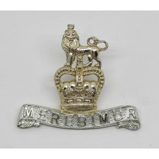 Royal Military College Canada (Truth Duty Valour) Cap Badge - Queen's Crown