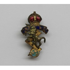 Small Royal Electrical & Mechanical Engineers (R.E.M.E.) Pin Badge - King's Crown