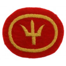 44th (Home Counties) Division Cloth Formation Sign (3rd Pattern)