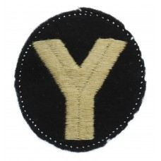 5th Infantry Division Cloth Formation Sign (2nd Pattern)