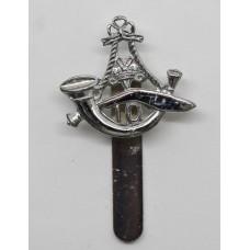 10th Princess Mary's Own Gurkha Rifles Chrome Beret Badge