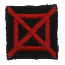 42nd Army Group Royal Artillery (AGRA) Cloth Formation Sign