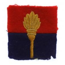 18th Training Brigade Royal Artillery Cloth Formation Sign