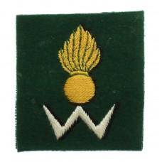 34th Anti-Aircraft Brigade Cloth Formation Sign
