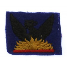 87th Army Group Royal Artillery (AGRA) Cloth Formation Sign (2nd