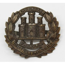 Northamptonshire Regiment Officer's Service Dress Cap Badge