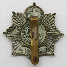 Staffordshire Yeomanry (Queen's Own Royal Regiment) Cap Badge - Queen's Crown