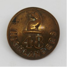 48th Highlanders of Canada Officer's Button (Large)