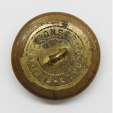 Pioneer Corps WW2 Plastic Economy Cap Badge - King's Crown