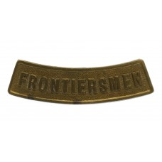 Legion of Frontiersmen Shoulder Title