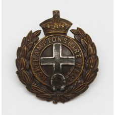 Northamptonshire Regiment Officer's Service Dress Collar Badge